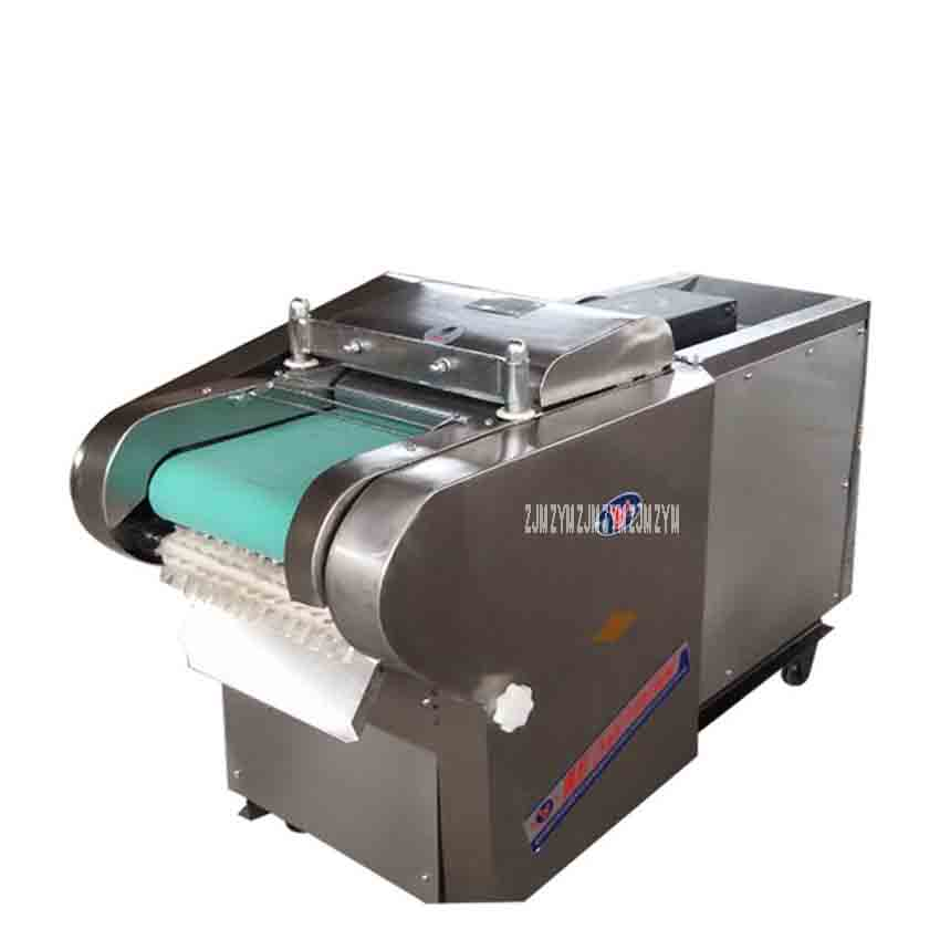 Commercial 1000-type multi-function vegetable cutting machine Herbal shredder Electric rice cake slicer canteen cut dried bamboo