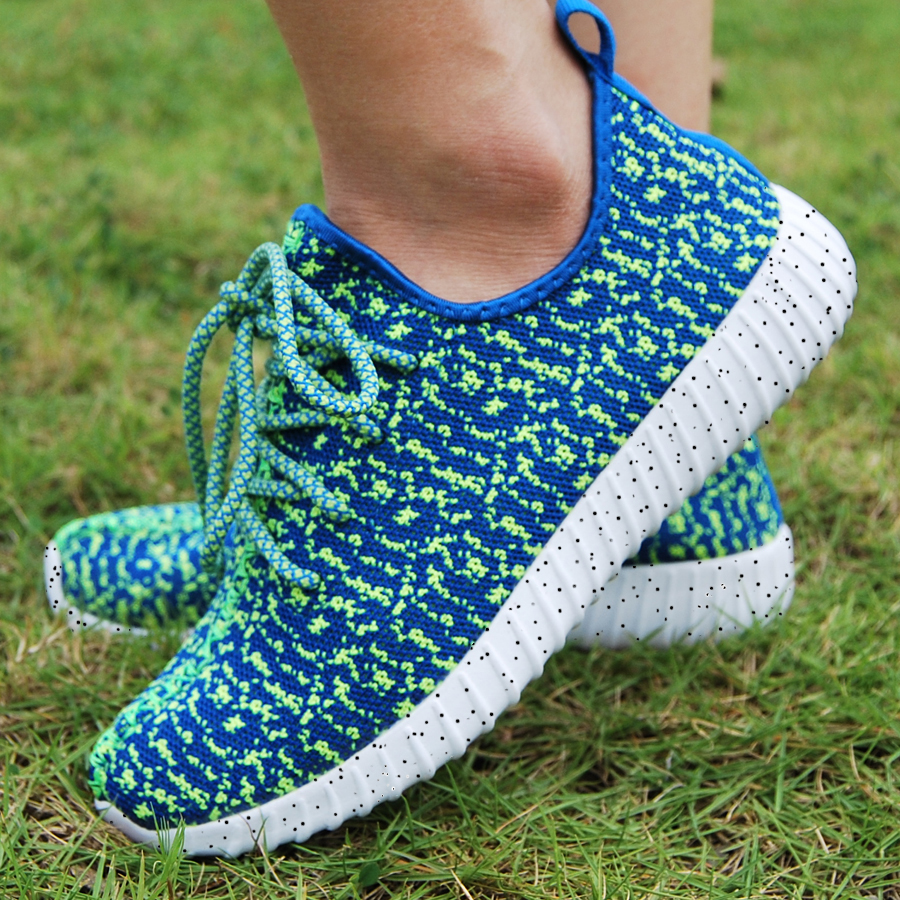16 new black color sport shoes woman and man,new idea computer woven breathable sneakers woman & man,comfortable shoes 13