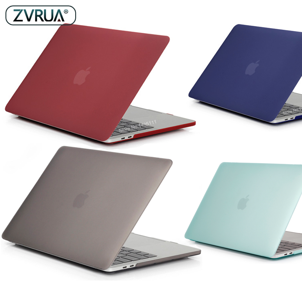 New Color Laptop Case For Apple MacBook Air Pro Retina 11 12 13 15 For Macbook New Pro 13 15 16 Inch With Touch Bar+Keypad Cover