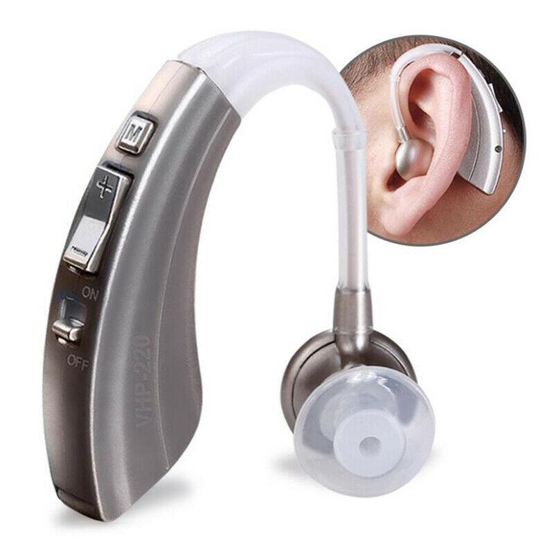 Hearing Aid VHP-220 Ear-Hearing Disorder Battery Ear Aid  Sound Enhancer Amplifier 1pc For The Elderly Deaf