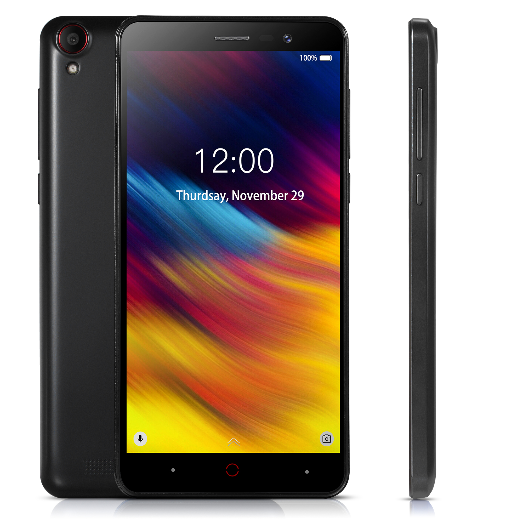 5.0 pouces Doogee X100 Android 8.1 téléphone Mobile 3G WCDMA MTK6580 Quad Core 1 GB RAM 8 GB ROM 5.0MP Smartphone double SIM 4000 mAh GPS