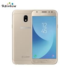 Original Samsung Galaxy J3 2017 J3300 Unlocked 5.0″ Dual SIM Fingerprint 13.0MP Snapdragon Quad Core LTE Smartphone With NFC