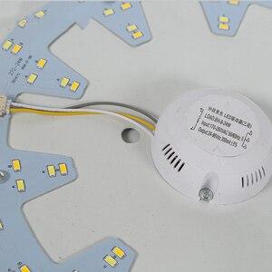 Image 5 - Индукционный светодиодный потолочный светильник с радиолокационным датчиком и звуковым управлением, Lamparas De Techo, ванная комната, лестницы, балкон, прихожая, детская потолочная лампа