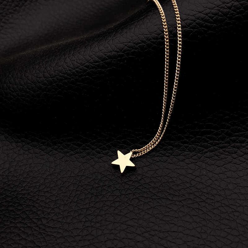 Petit coeur collier ras du cou pour les femmes or argent chaîne petit amour collier pendentif sur le cou bohème Chocker collier bijoux