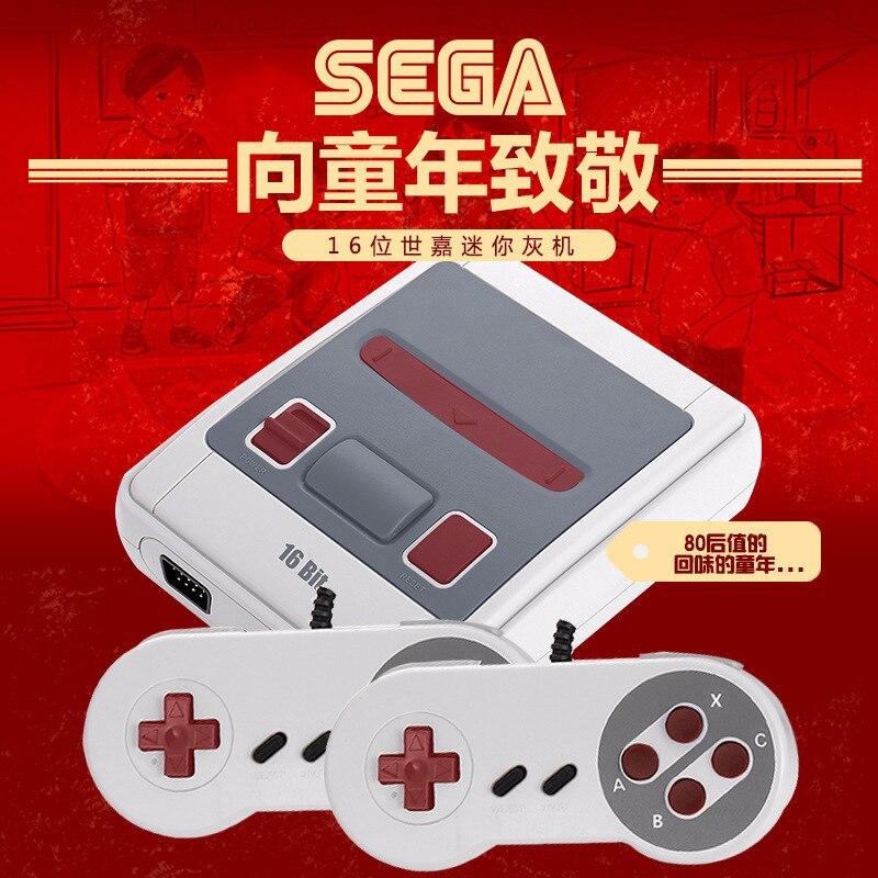 Console de jeu Sega MD 16 bits dédiée à la Console de jeu nostalgique Sega TV Console de jeu intégrée 167 jeux
