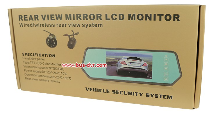 mirror monitor box