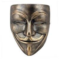 Wysoka jakość halloween festival terroru maska delikatne żywicy's słowa do maski vendetta movie theme v 560g bs