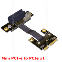 Mini PCIe MPCIe WiFi Wireless Network Card Interface Extension Cable To 1 PCI E X1 1x