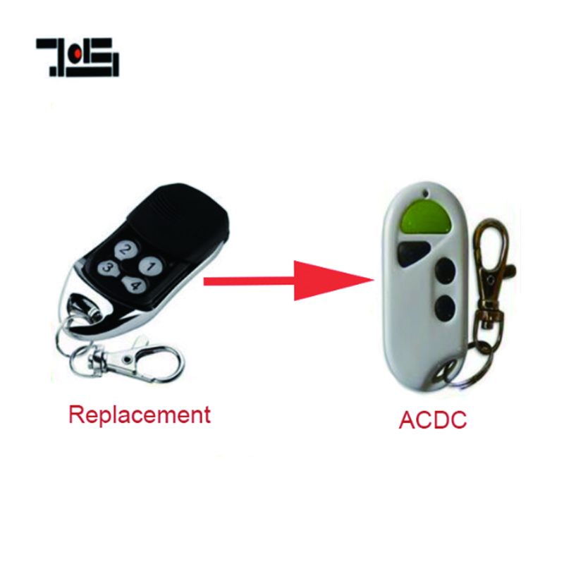 The ACDC Garage Door replacement Remote free shipping rolling code 433.92mhz free shippingThe ACDC Garage Door replacement Remote free shipping rolling code 433.92mhz free shipping