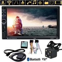 VODOOL 7 2 DIN Touch Screen Android Car MP5 Player Auto Bluetooth WiFi GPS Navigator FM