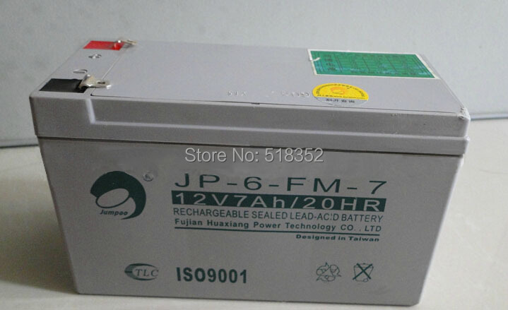 353507306 Charmilles CUT20P UPS Backup Battery 12V 7Ah, Wire EDM LS Machine Spare Parts Wholesale