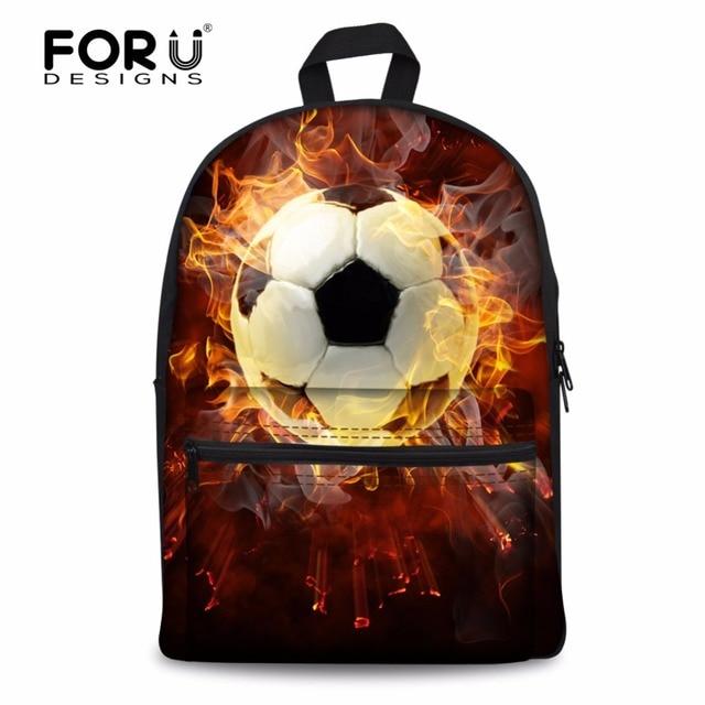 7a4533377b FORUDESIGNS Fashion 3D Printing School Bag For Teenager Boys Men Casual  Backpack Shoulder Laptop Bagpack Child Schoolbag Mochila