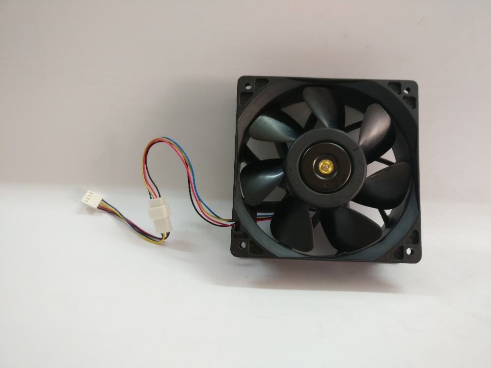 HOT YUNHUI Bitcoin Miner Fan,12cm PWM Cooling Fan For Bitmain Miner Antminer S9 D3 A3 L3 L3+ S7 T9 T9+
