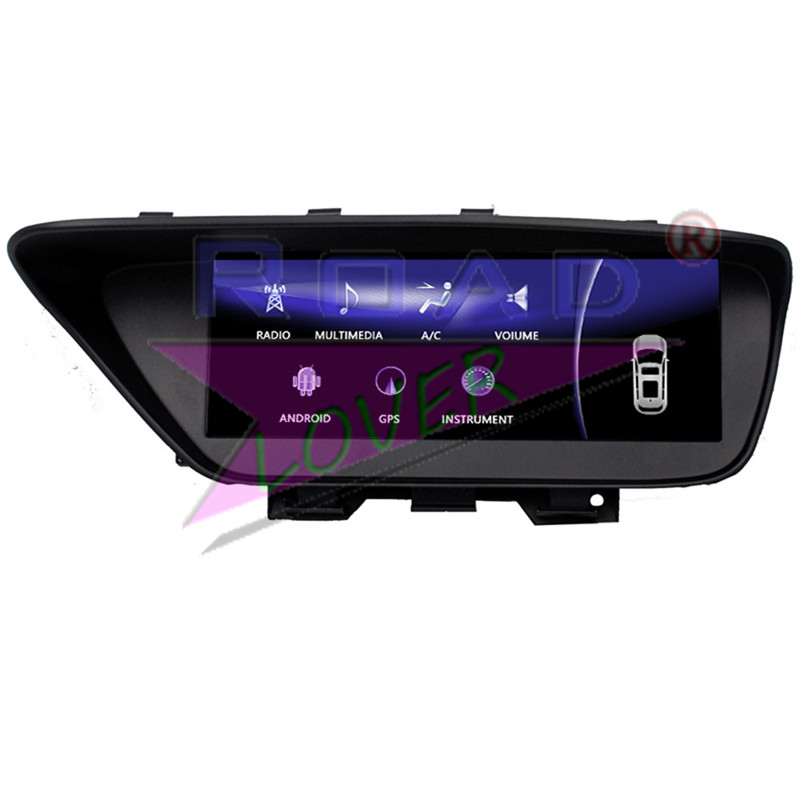 Roadlover Android 7.1 Car Automotive Player Radio For Lexus ES 2013 2014 Stereo Magnitol GPS Navigation 2 Din 10.25Inch NO DVD