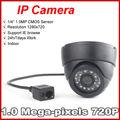 Mini 720 P Cámara Domo IP de la Red P2P Onvif Night Vision CCTV Cámara de Seguridad Del Sistema de Vigilancia de Seguridad de Interior de interior useus