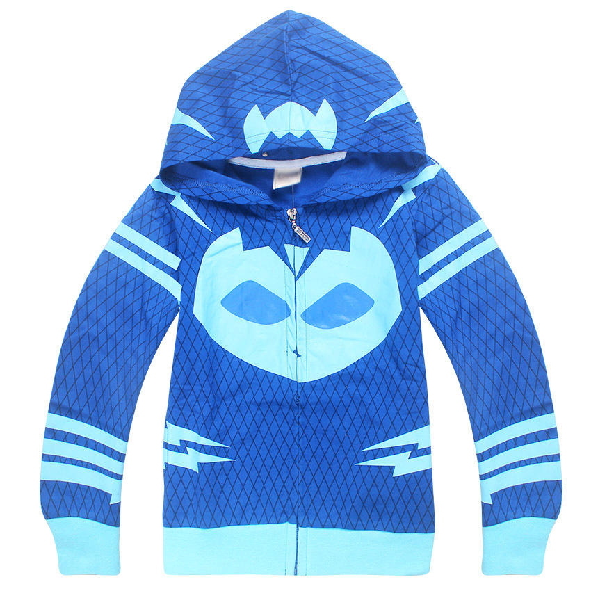 Boys Fashion Hoodies Mask man Spring&Autumn mask superhero cosplay boy Coats kids Long Sleeve T-shirts Children Girls Tops