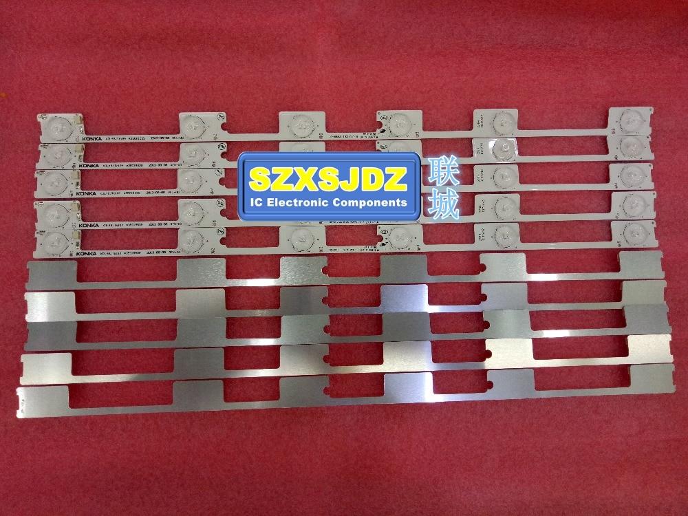 New LED backlight bar strip for KONKA KDL48JT618A KDL48SS618U 35018539 6LED 6V 442mmnew