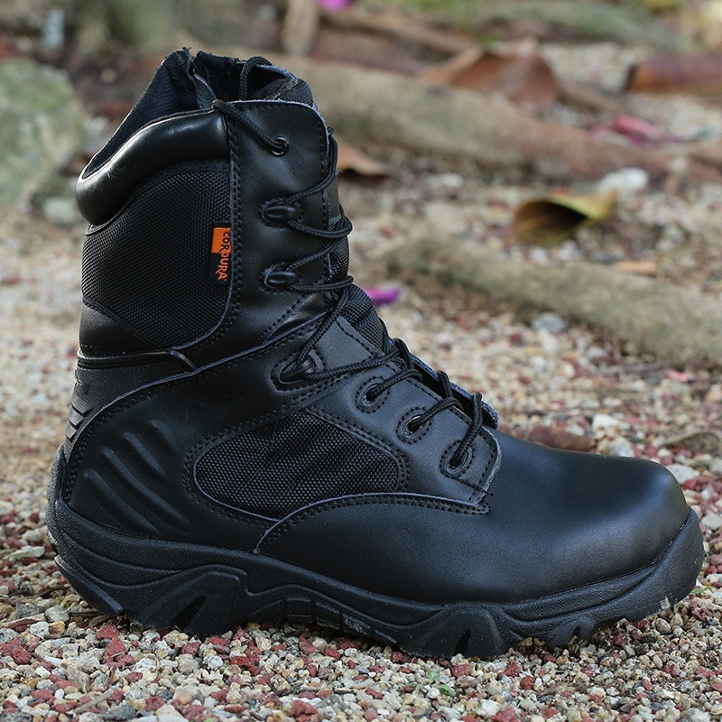 2019 New Army Male Commando Combat Desert Winter Outdoor Hiking Boots Landing Tactical Military Shoes
