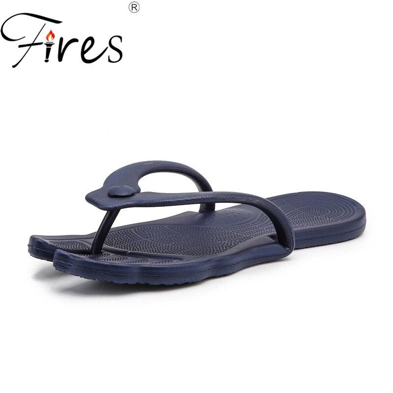 Mutig Feuer Mann Flip Flops Bequeme Strand-schuhe Paar Leichte Hausschuhe Faltbare Komfort Wasser Schuhe Männer Freizeitschuhe