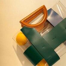 3c73cd8d1 Famosa Marca de bolsas de couro PVC Balde saco sacos de bolsas de grife mulheres  sacos de Praia de Natação de Verão para as mulh.
