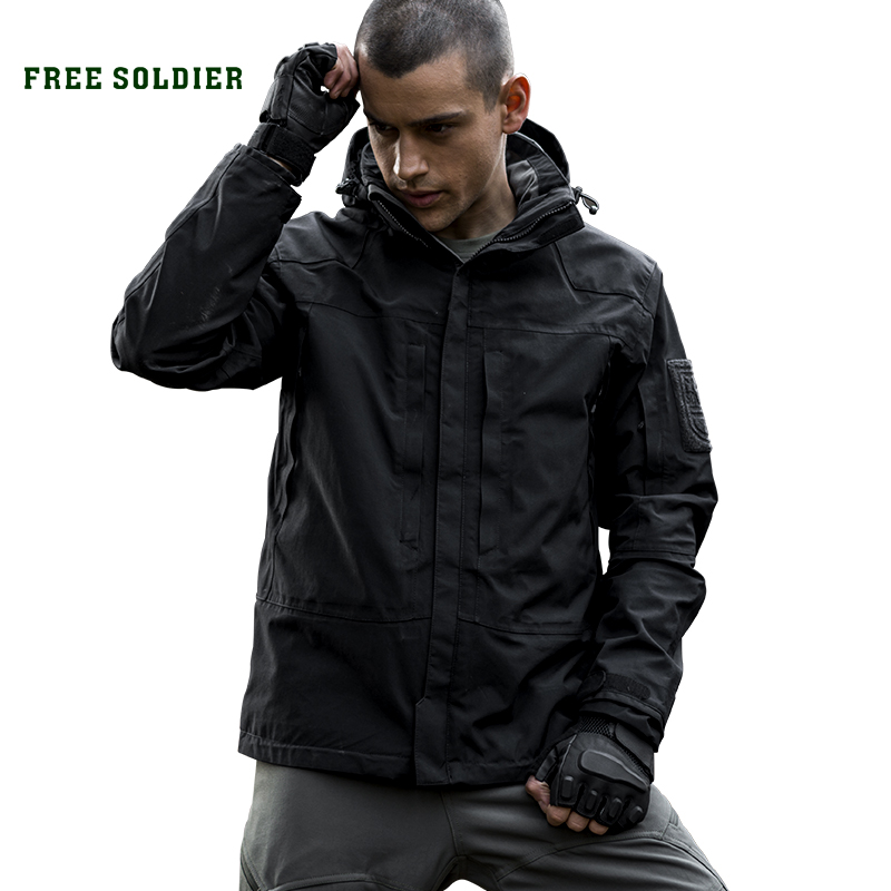 Coats Jacket Free-Soldier Tactical Outdoor Camping Water-Repellent Lining Hiking Breathable