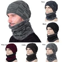 Winter Skiing Bibs Men Women Snowboard Mask Balaclava Outdoor Riding Bib Ski Skull Hats Beanies Wool Knitted Scarf Cap