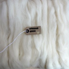 100g Cream White Needle Felting Uld Soft Felting Uld Toppe Roving Spinning Weaving Uld Fiber Til DIY Håndværk Needlework