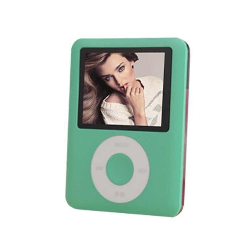 BGreen Real 8GB LCD Screen MP3 Player 3th Gen Ebook Reader Photo Viewer FM Radio Voice Recorder Video Player