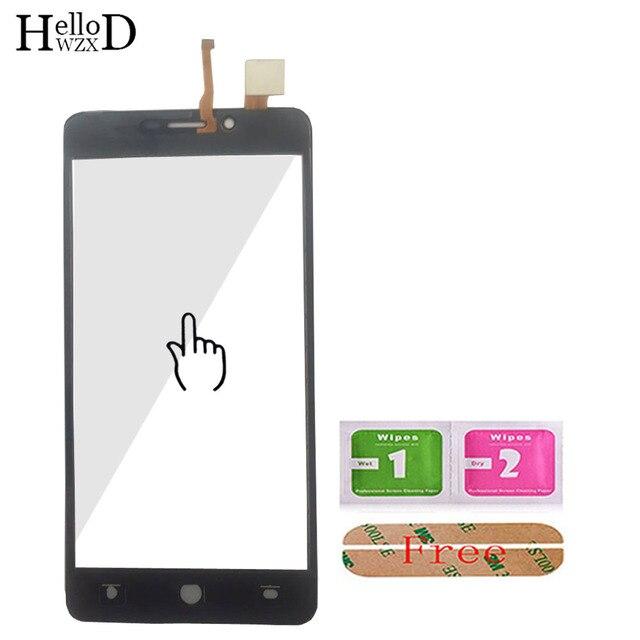 5.0 ''mobilny ekran dotykowy przód dla leagoo kiicaa power Touch digitalizator do szkła ekranu Panel przewód elastyczny czujnika narzędzia klej