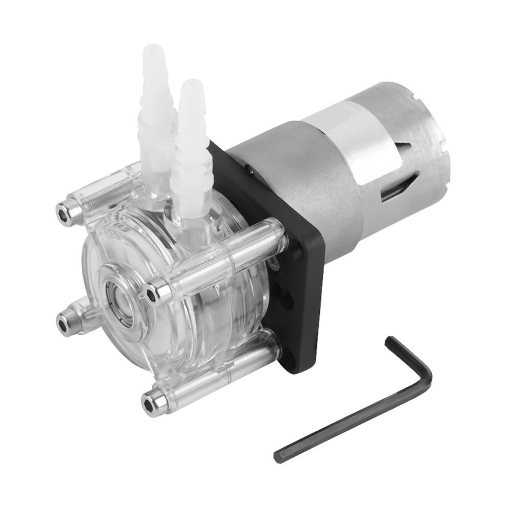 Dc 12 V High Flow Schlauchpumpe Rohr Vakuum Peristaltische Pumpe Für Aquarium Lab Analytische Wasser Kugellager Hohe Quanlity Hindernis Entfernen