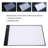 Drawing Digital Tablets Portable LED Writing Painting Light Box Copy Board Pad Table Write Light 360mmx240mm