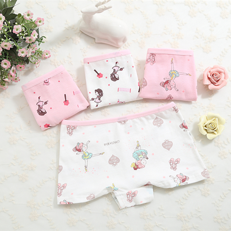 Underpants Panties Panties For Girls Underwear For Girls Boxers Calcinha Infantile Child's Kids Children  C2380-4P 4PCS/LOT