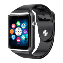 GETIHU Smart Watch Wrist with Men Camera Bluetooth Wristwatch SIM Card Sport Smartwatch For iPhone Xs