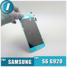 Más reciente Teléfono Móvil LCD Display + Digitalizador de Pantalla Táctil Completa piezas de repuesto de montaje para samsung galaxy s6 g920 g920f g920a G920T