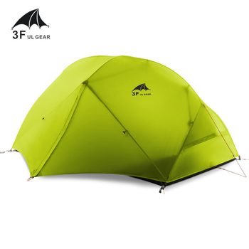 3F UL GEAR 2 Person 4 Season Camping Tent Outdoor Ultralight Hiking Backpacking Hunting Waterproof Tent 15D Silicone Zelt Tenten 1