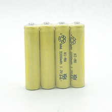 JNKXIXI 10PCS/LOT aaa Rechargeable Batteries 2200mAh 1800mAh 1900mAh Ni-MH Rechargeable AAA Battery