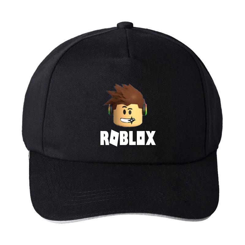 Hot Games Roblox Cap Rock Band Symbol Skullies Beanie Cotton Black