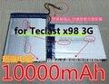 3.7 V 10000 mAh Tablet Bateria Bateria Para Bateria para Teclast x98 Teclast X98 3G Tablet PC 3g