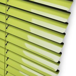 Image 4 - Persianas venecianas de tamaño personalizado, persiana enrollable de aluminio grueso, resistente al agua, color blanco, gris, plateado y dorado, persiana enrollable para ventana, 25MM