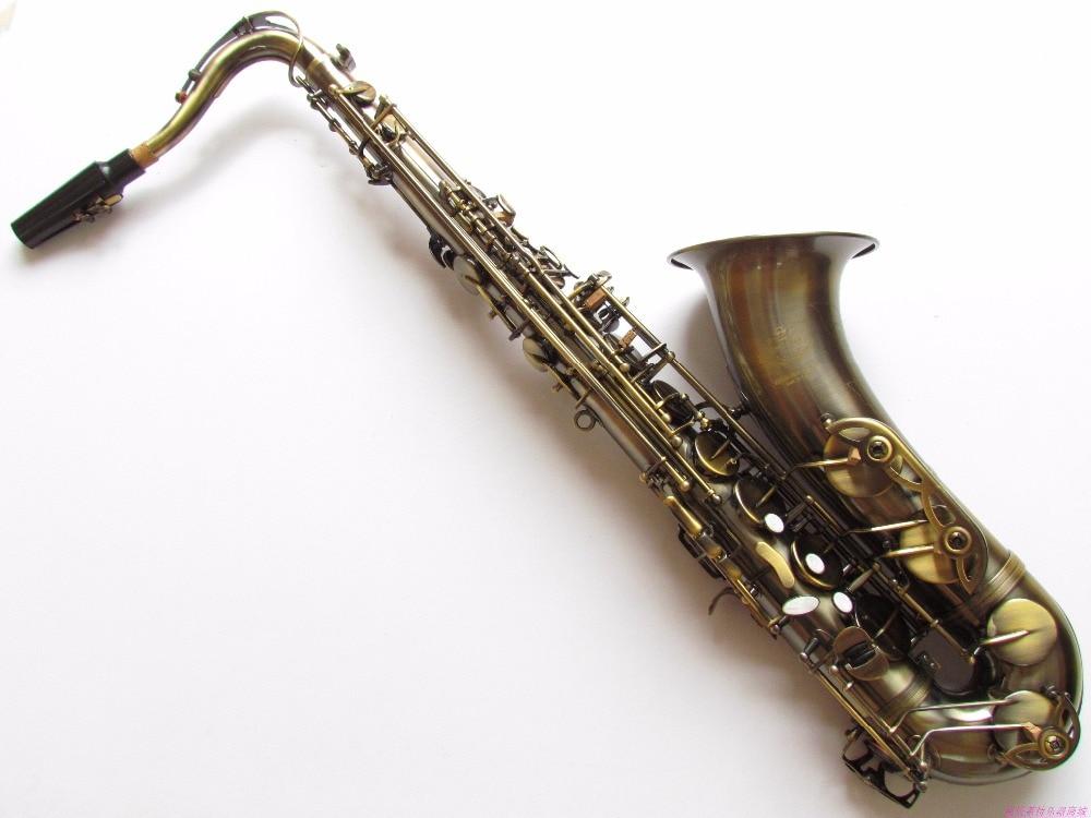 Free 2018 New Sal-mer Tenor Saxophone Sax R54 B Flat Musical Instruments Professional Antique Copper Simulation Saxo