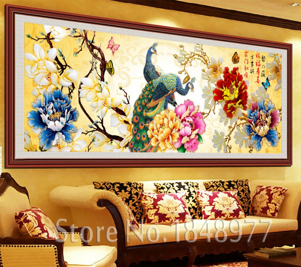 3 piece cuadros deocracion chinese painting home decorative wall art ...
