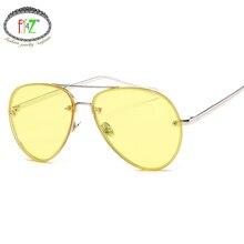 F.J4Z Fashion Brand Designer Women Sunglasses Classic Sea Gradient Shades Men's Sun glasses UV400