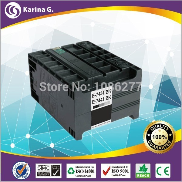 ФОТО Compatible Ink Cartridge for T7441 T7431 WORKFORCE PRO WP-M4015DN M4095DN M4525DN M4595DN,Free Shipping