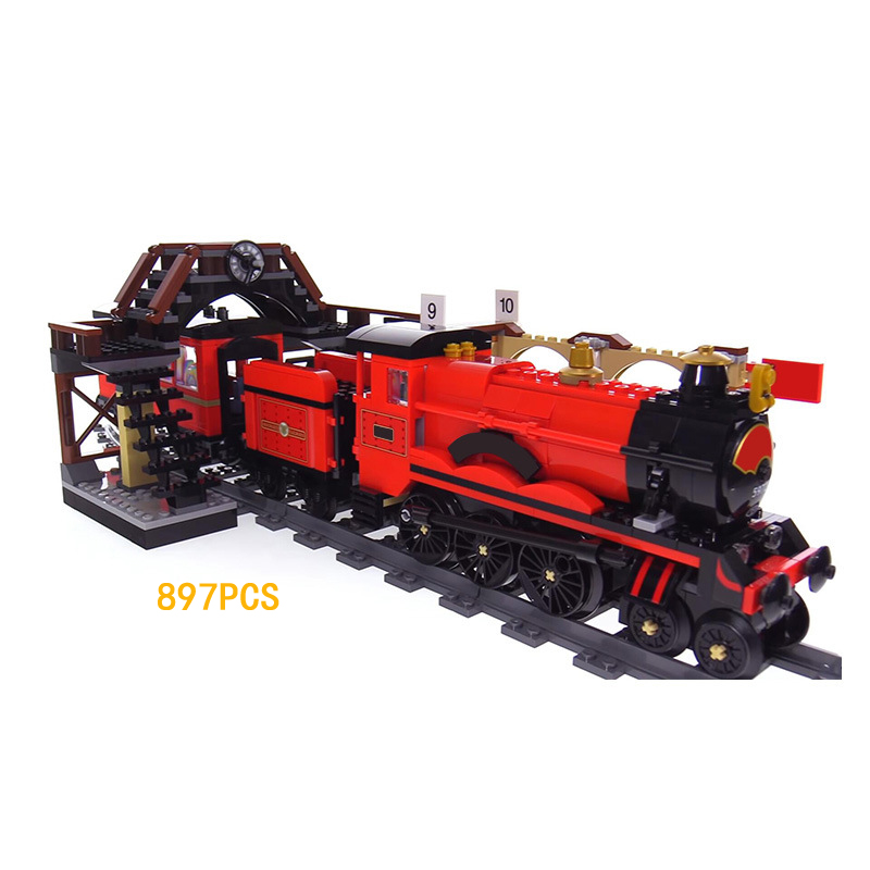 Classic movie Harry Potter hogwarts express building block Lord Voldemort Hermione figures train bricks 75955 toys for kids gift harry potter single sale action figures hermione granger ron lord voldemort legoings draco malfoy blocks gift toys for children