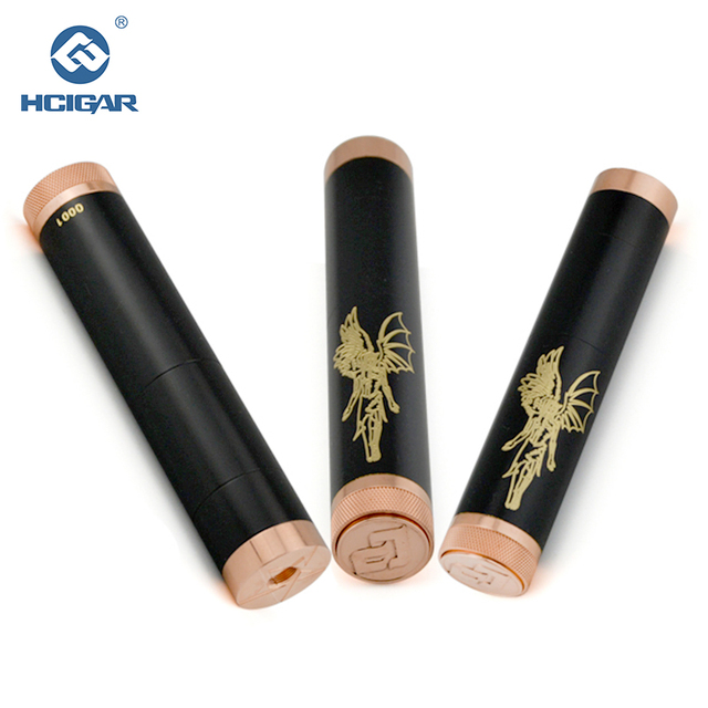 Original HCIGAR Angelus Lapsus Mechanical Mod Black Color 510 Thread 18350/18490/18500/18650 E Cigarette Vape Mech Mod vs ehpro