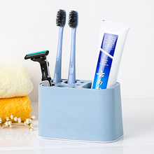 Fashion Washing rack for porous table top toothbrush holder 12*6*7cm free shipping