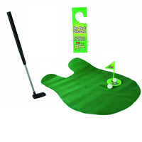 GRappige toilet putting green 1