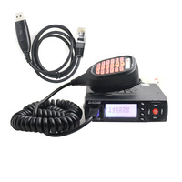 Baojie BJ 218 Mini Mobile Radio Car Radio FM Transceiver 25W VHF UHF BJ218 Vericle Car Ham Radio Dual Band Walkie Talkie
