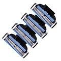 4 pçs/lote 3 Camadas Homens Cabeças de Substituição Navalha Shaver Lâminas de Aço Inoxidável Para A Venda