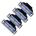 4pcs/lot 3 Layers Men Razor Replacement Heads Stainless Steel Shaver Blades For Sale
